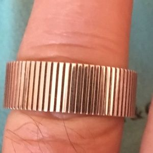 Tiffany & Co 925 *2003* Coin Edge Unisex Ring 9.5